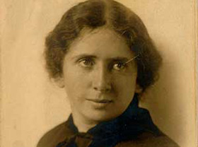 Portrait of Rose Schneiderman