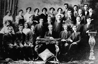 Members of the ILGWU which was founded in 1900